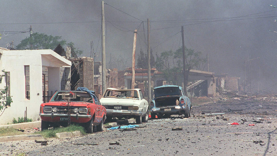 CENydET - explosiones Río Tercero